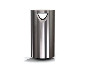 s11.3 Stainless Steel Litter bin with Ashtray
