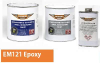 EM121 EPOXY RUST PROOFING PAINT - PURE WHITE