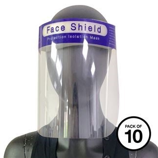Transparent Face Shields For Protection