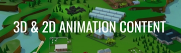 3D & 2D Animation Content Production In London