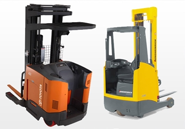 Reach Forklift Truck Training Courses