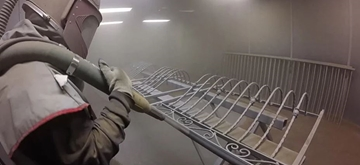 Industrial Equipment Shot Blast Cleaning Services
