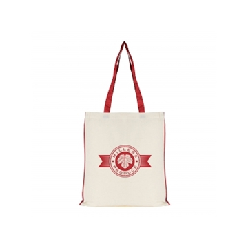 7oz Cotton Conference Bag With Piped Trim
