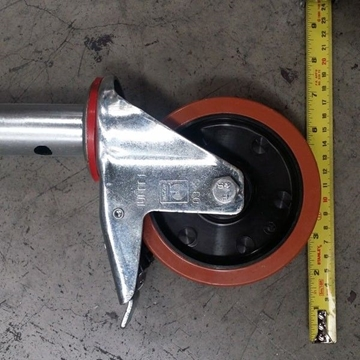 Adjustable Castors For Scaffold Towers