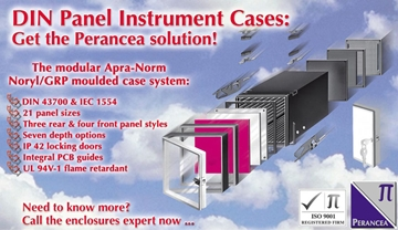 DIN Panel-Mounting Instrument Cases