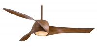 """Minka Aire Artemis Ceiling Fan with Light and Remote, 58""""/147cm 240v, Lifetime Warranty"""