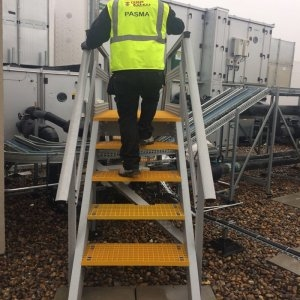Chemical Resistant GRP Stairs