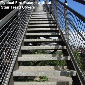 Durable Fire Escape Staircases