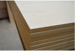 Real Wood Decorative Veneered MDF