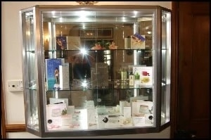 Glass Display Counters For Shops