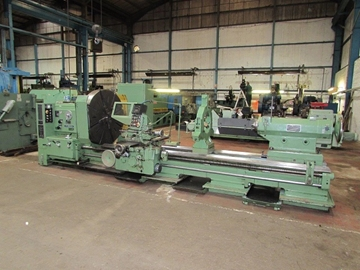 Used Poreba Gap Bed Lathes