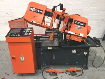 Used Automatic Horizontal Hydraulic Bandsaws