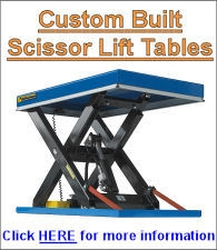 European Made Lift Tables