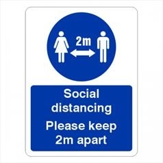Social Distancing Signs Store