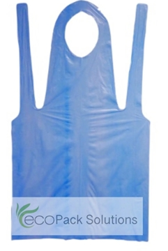 Coloured Polythene Disposable Aprons