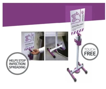 Foot-Operated Hand Sanitising Stations