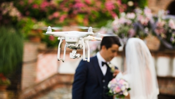 Drone Photography Services For Weddings