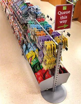 Queuing Systems With Snacks Racks