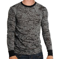 Burn-out long sleeve thermal