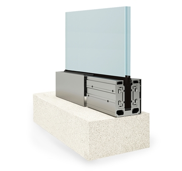 Front Flashing A4 Frameless System