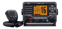 IC-M506GE VHF/DSC marine radio with NMEA 2000 connectivity and AIS receiver.