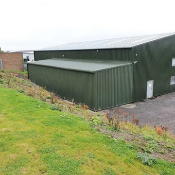 Cold Rolled Steel Buildings In North East England