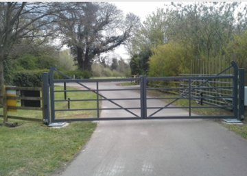 Wrought Iron Gates In Midlands