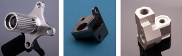 3 Axis Machined Components