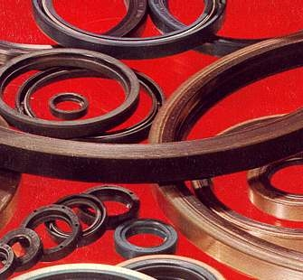 NBR Metal Cased Leather Lip Rotary Shaft Seals