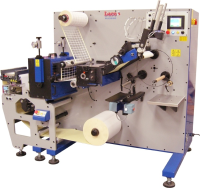 Rotary Die Cutter With A Semi-Automatic Turret Rewinder
