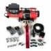 Stealth 3500lb 12v Electric Winch With Synthetic Rope