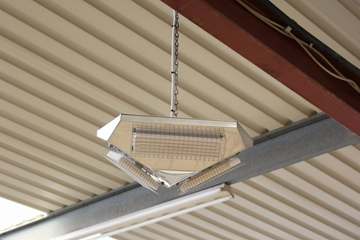 Infrared Heaters For Warehouses