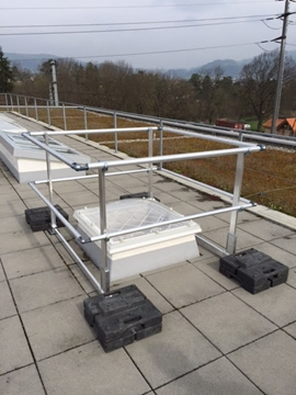 Barrial Rooflight Railings System