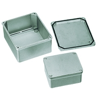 DIE-CAST Aluminium Unpainted Enclosures