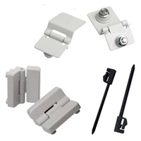 Hinges & Spare Hinges for Enclosures