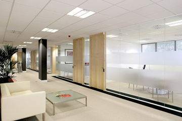 Fully Glazed Partition System