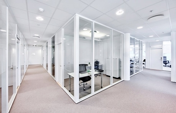 Solid Panels Partitioning System