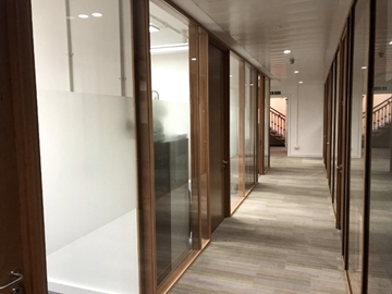 Craftwall Relocatable Partitioning System