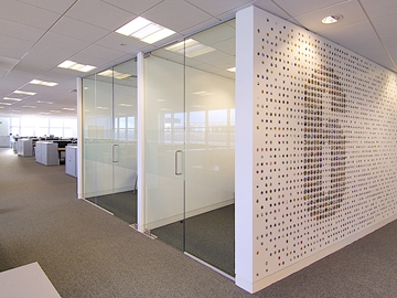 Flushwall Partitioning Solution For Interior Spaces