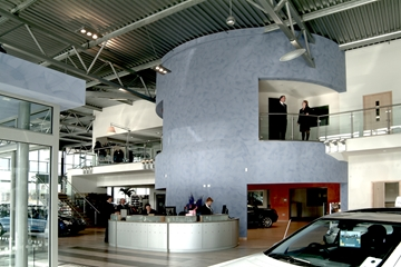 Soundproof Partitioning System For Interior Spaces