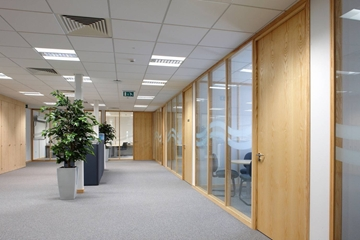 Modular Interior Space Partitioning Systems