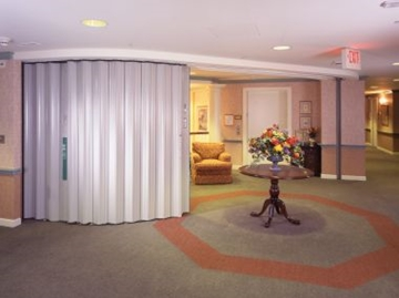 Accordion Fire Doors For Hotels