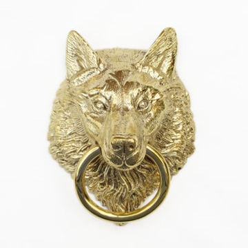 Wolf Head Door Knocker