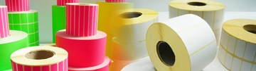 Thermal Transfer Labels On White Paper