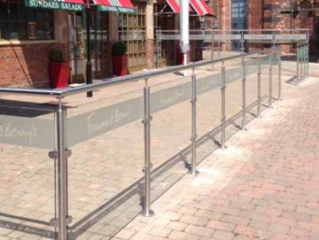 Bespoke Glass Screen Partitions
