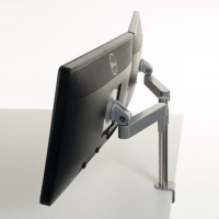 Dual Screen Post Arms for Desks & Counters 300 Series