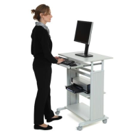 ECOStanding 6 Height Adjustable Stand-Up Mobile Desk