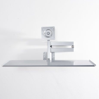 Wall Arm Mountings with Keyboard Tray