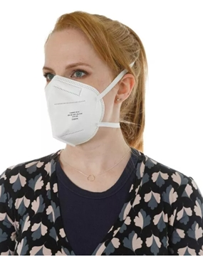 Nationwide Supplier Of FFP2 High-Filtration Flat Fold Respirator