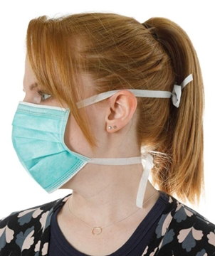 Nationwide Supplier Of CE Certified Mask With Tie Straps